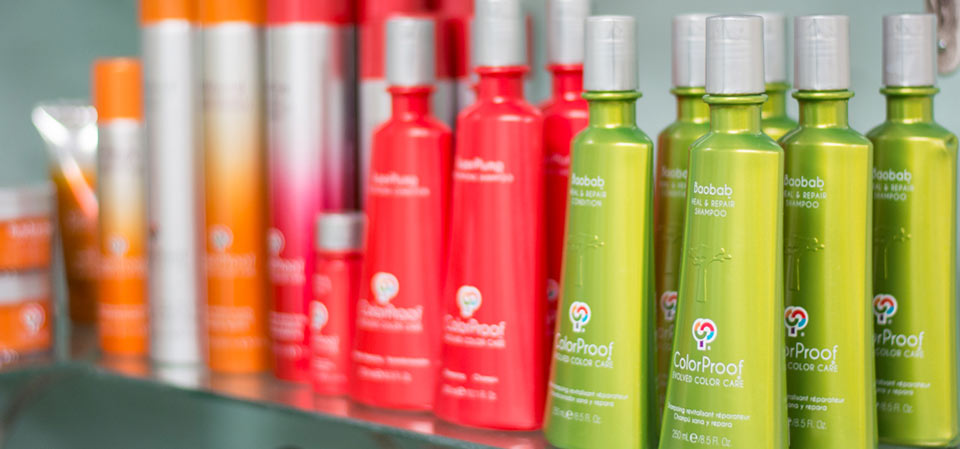 We proudly offer ColorProof products in our salon.